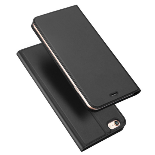 Dux Ducis iPhone 6 fekete flipcover telefontok