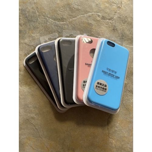 Fshang iPhone 6 barackvirág Liquid Silicone telefontok