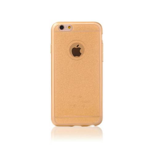 iPhone 6 Csillogós gold szilikon telefontok