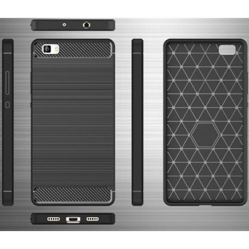 iPhone 7 / 8 / SE 20 fekete Carbon szilikon telefontok