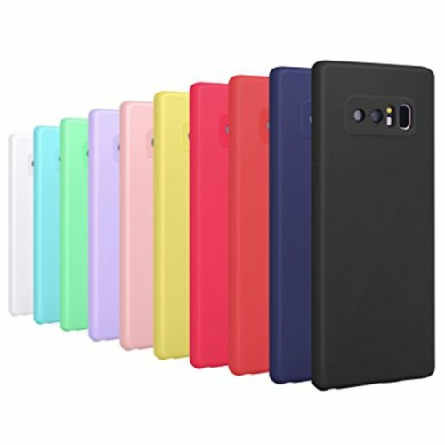 iPhone 7 / 8 / SE 20 fekete szilikon telefontok