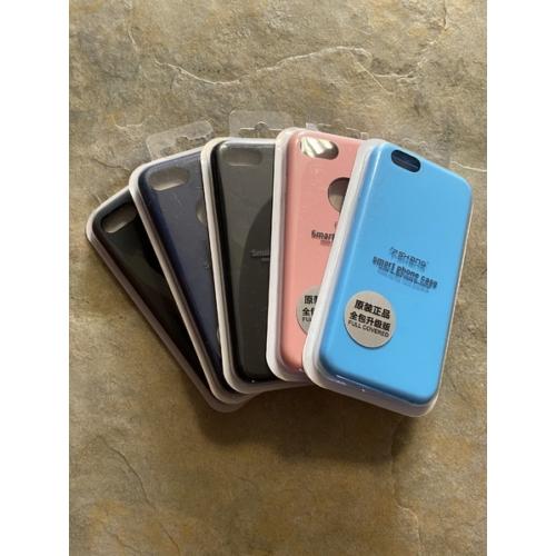 Fshang iPhone 7 barackvirág Liquid Silicone telefontok