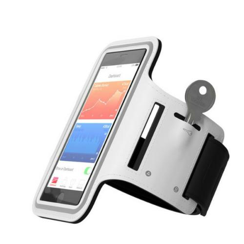 IPhone 6+ / 7+ / 8+ méretű sport karpánt fehér
