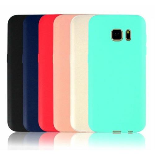 iPhone 8+ piros Pastel szilikon telefontok