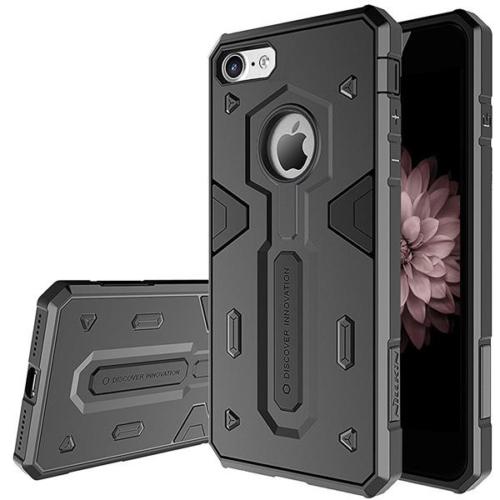 iPhone 8+ fekete Nillkin Defender II ütésálló telefontok