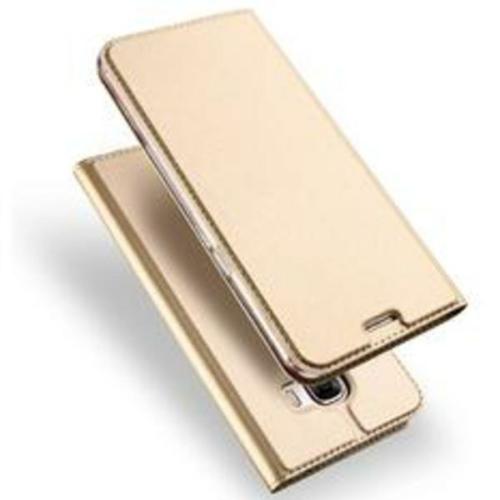 Dux Ducis iPhone X / XS arany flipcover telefontok
