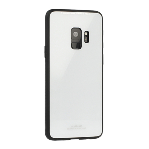 iPhone X / XS fehér Glass Case telefontok