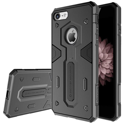 iPhone X / XS fekete Nillkin Defender II ütésálló telefontok