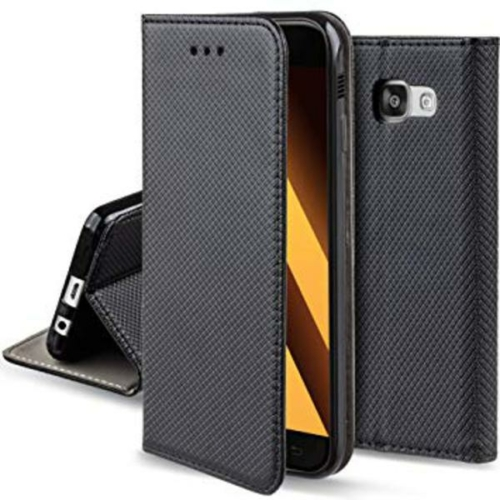 iPhone X / XS fekete X flipcover telefontok