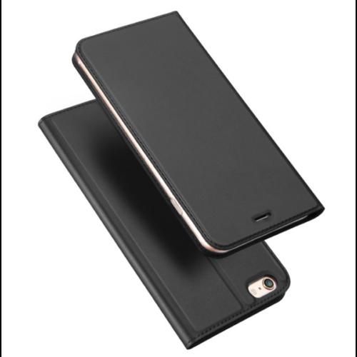 Dux Ducis Skin Pro iPhone XS Max fekete flipcover telefontok
