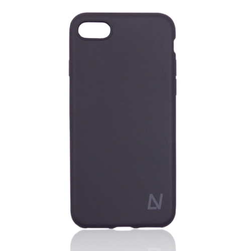 iPhone XS Max fekete soft touch szilikon telefontok