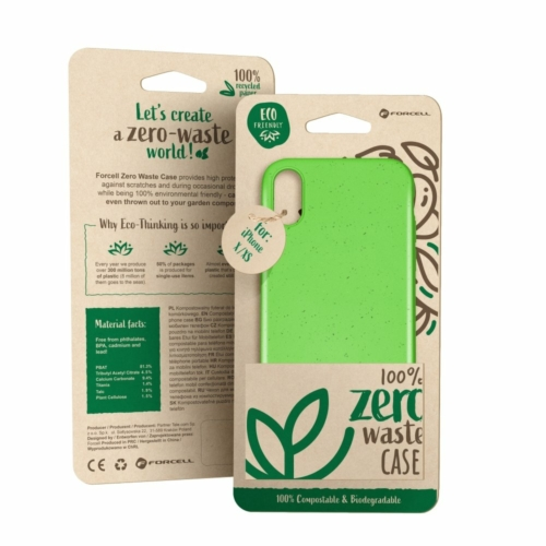 Forcell BIO - Zero Waste telefontok IPHONE 6 / 6S green
