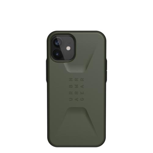 Urban Armor Gear UAG Civilian IPHONE 12 MINI olive telefontok