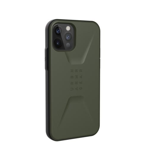 Urban Armor Gear UAG Civilian IPHONE 12 / 12 PRO olive telefontok