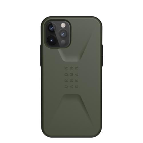 Urban Armor Gear UAG Civilian IPHONE 12 PRO MAX olive telefontok