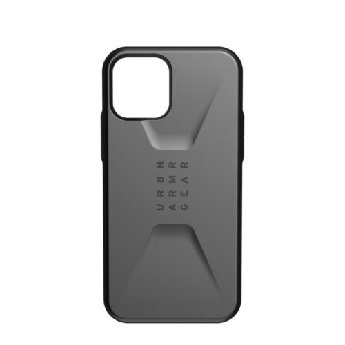 Urban Armor Gear UAG Civilian IPHONE 12 / 12 PRO silver telefontok
