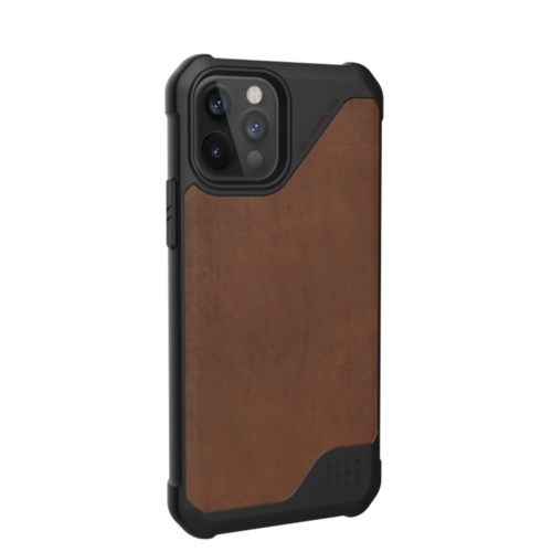 Urban Armor Gear UAG Metropolis LT (leather) IPHONE 12 PRO MAX brown telefontok