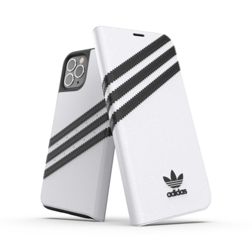 ADIDAS Originals Booklet IPHONE 12 / 12 PRO white telefontok