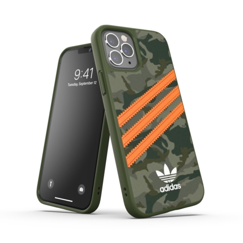 ADIDAS Originals Moulded IPHONE 12 / 12 PRO orange camo telefontok