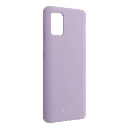 Mercury Silicone IPHONE 12 MINI purple telefontok
