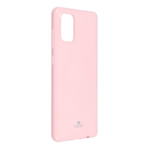 Jelly Mercury Iphone 12 / 12 PRO light pink telefontok