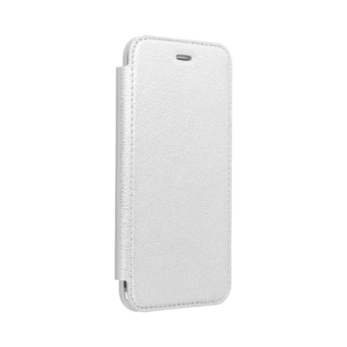 Forcell ELECTRO BOOK IPHONE 12 / 12 PRO silver telefontok