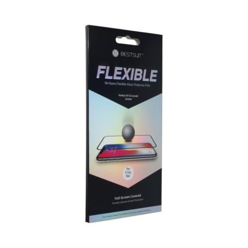 "5D Full Glue Nano Glass - APP iPhone 12 Pro Max 6,7"" üvegfólia"