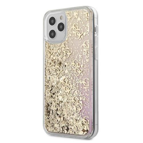 GUESS GUHCP12SLG4GGPIGO iPhone 12 MINI gold telefontok