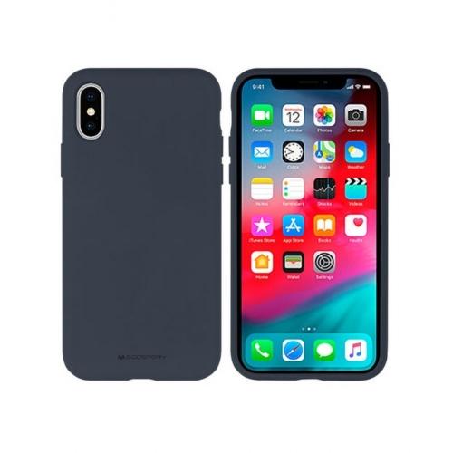 Mercury Silicone IPHONE 12 PRO MAX navy telefontok