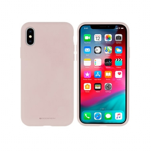 Mercury Silicone IPHONE 12 MINI pink telefontok