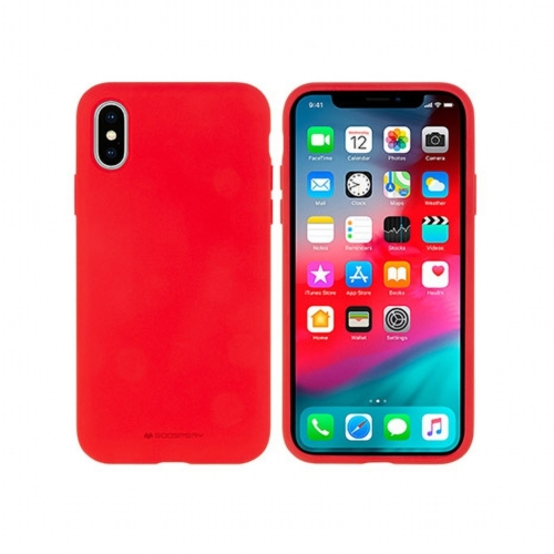 Mercury Silicone IPHONE 12 MINI red telefontok
