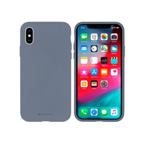 Mercury Silicone IPHONE 12 / 12 PRO lavender grey telefontok