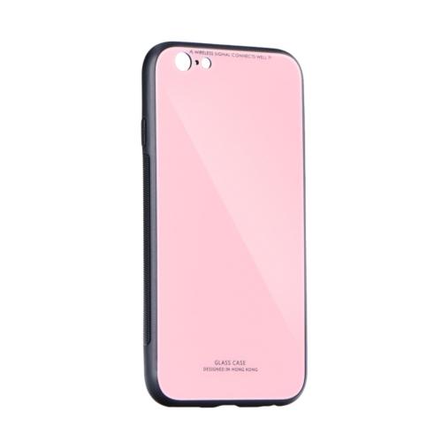 GLASS IPHONE 12 / 12 PRO pink telefontok