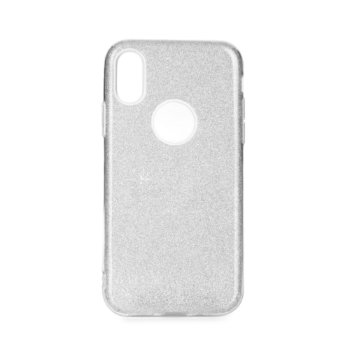 Forcell SHINING IPHONE 12 / 12 PRO silver telefontok