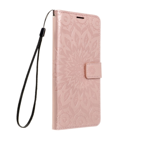 Forcell MEZZO Book telefontok SAMSUNG Galaxy A72 LTE ( 4G ) mandala rose gold