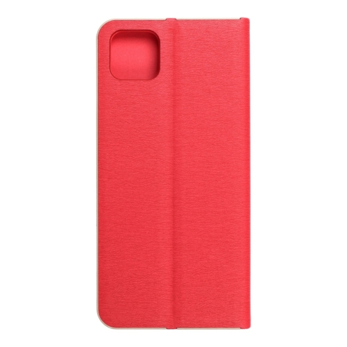 Forcell LUNA Book Gold for SAMSUNG Galaxy A22 5G red