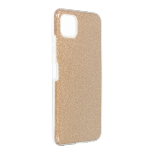 Forcell SHINING Case for SAMSUNG Galaxy A22 5G gold