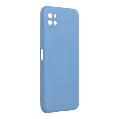 Forcell SILICONE LITE Case for SAMSUNG Galaxy A22 5G blue