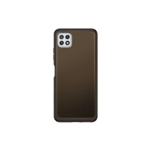 Original Soft Clear Cover EF-QA226TBEGEU Samsung Galaxy A22 Black