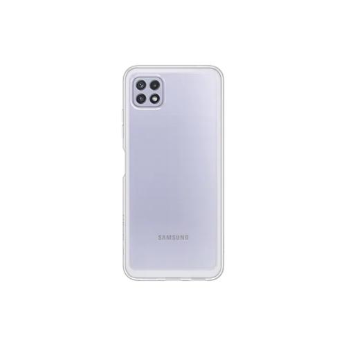 Original Soft Clear Cover EF-QA226TTEGEU Samsung Galaxy A22 transparent