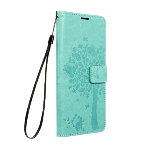Forcell MEZZO Book case for SAMSUNG Galaxy A22 5G tree green