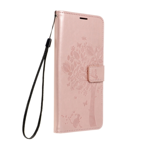 Forcell MEZZO Book case for SAMSUNG Galaxy A22 5G tree rose gold
