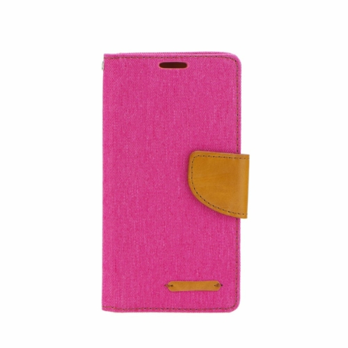 Canvas flip telefontok Samsung Galaxy M21 pink