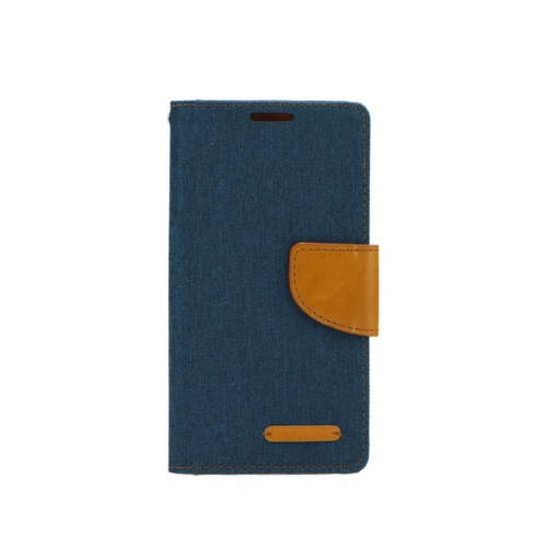 Canvas flip telefontok Samsung Galaxy M21 navy blue