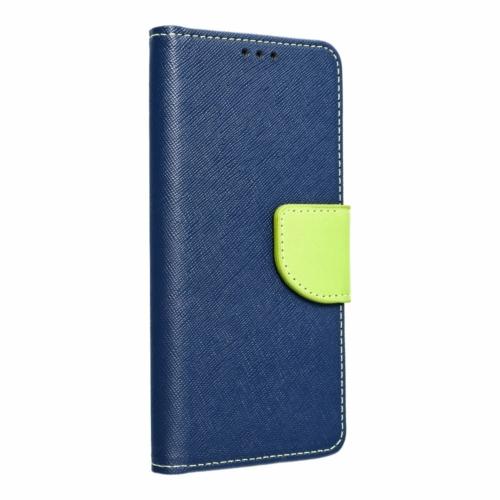 FANCY Flip telefontok Samsung Galaxy M11 navy/lime