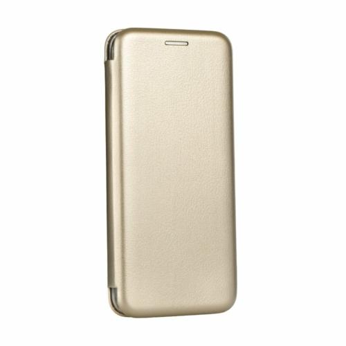 Elegáns flip telefontok Samsung Galaxy M21 gold