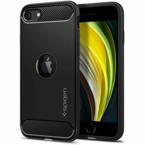 SPIGEN Rugged Armor iPhone SE 2020 ütésálló telefontok