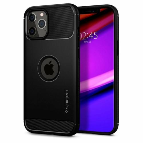 SPIGEN Rugged Armor iPhone 12 / 12 PRO ütésálló telefontok