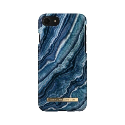 iDeal of Sweden Fashion telefontok iPhone 8 / 7 / 6 / SE Indigo Swirl