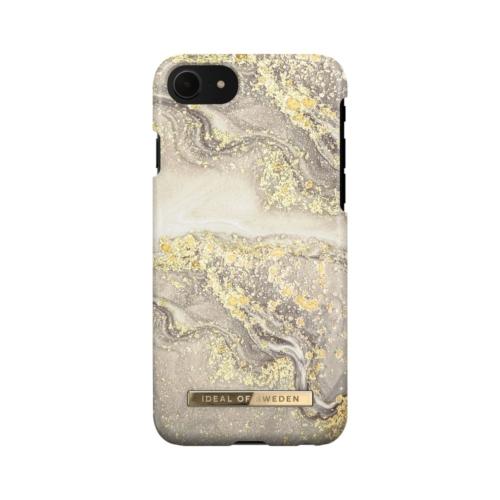 iDeal of Sweden Fashion telefontok iPhone 7 / 8 / 6 / SE Sparkle Greige Marblee